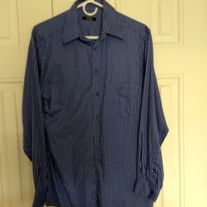 Alfani fitted long sleeve dress shirt